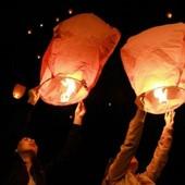 Один лот !!! 3 шт китайских небесных фонарика