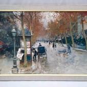 "новая картина в рамке "" Улица Парижа"""