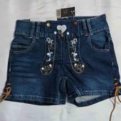Джинсовые шорты Esmara, размер s, синие