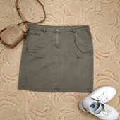 Классная джинсовая юбка стрейч в отличном состоянии