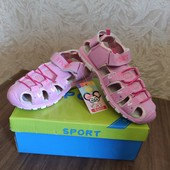 Спортивные босоножки для девочки 27