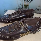 Женские кросовки из натуральной кожи D&G, 38р