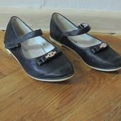 Туфли балетки кожаные 19,5 см