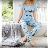 Пижама женская от Эйвон Beauty Sleep с сердечками и глазками ,размер -50-52