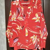 Всё по 100! Фирменная новая красивая блуза р.14-16