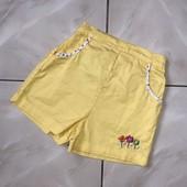 Стоп ) яркие,в отличном состоянии❤ Фирменные коттоновые шорты для девочки,1-2 года❤ Много лотов!