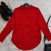 Красивая красная блуза ! УП скидка 10%