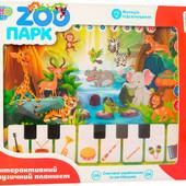 Детский музыкальный планшет «Зоопарк» Limo Toy   Дитячий розвиваючий музичний планшет