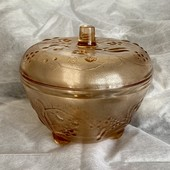 Миска ваза салатница конфетница стекло СССР