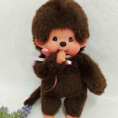 Мончичи кукла обезьянка Sekiguchi 19 см