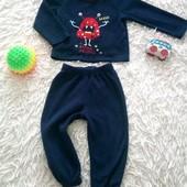 ✔️ Флисовый костюмчик на мальчика 1-1,5 годика ✔️