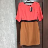 Все по 100! Фирменное новое красивое платье р.10-12