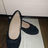 Замшевые балетки Esmara 37 р