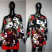Качество! Красивая блуза/удлиненная спинка от бренда Soon