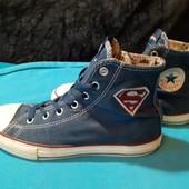 Кеды Converse Superman, разм. 34 (21 см по бирке, реально 22,5 см внутри).