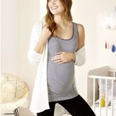 Esmara Германия Коттоновая майка для беременной 36/38р евро