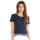 спортивная женская футболка синяя crivit германия, р. 42-44