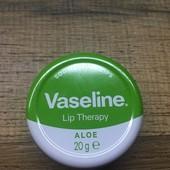 Оооочень много лотов! Бальзам для губ с алоэ Vaseline Lip 17 г