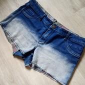 Супер крутезные Джинсовые шорты двухсторонние,стрейч,очень хорошо тянутся!!!