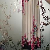 Женский длинный сарафан в цветах, L, Xl
