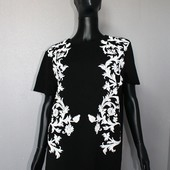 Качество! Блуза/фактурный принт от Zara, в новом состоянии, р. XXL+-