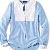 Эффектная блуза рубашка 42р евро Tcm Tchibo Германия смотрите замеры