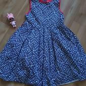 Платье/сарафан 116-128 см, см. замеры, в отличном состоянии.