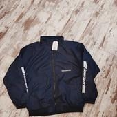 Лёгкая ветровка, куртка, бомбер, тем синяя.р160можно на S//m