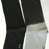 2 пары! Набор! Носки Livergy Германия 39/42 размер, хлопок, с градиентом цвета, качество супер