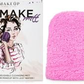 Рукавичка для снятия макияжа