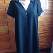 Чёрная туника- платье (пог-56-60 см)