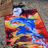 Большое пляжное полотенце. Одно на выбор