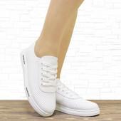 """Женсие кроссовки """"Freedom"""" белые. 25 см."""