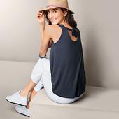 ☘ Стильна блуза з декоративною стрічкою від Tchibo (Німеччина), р .: 42-46 (36/38 євро)