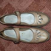 """Clarks кожаные туфли, под """"винтаж"""""""