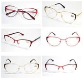 """Дополнение летнего образа !Стильные имиджевые очки """"Кошечки""""и Лисички с диоптриями + и -"""
