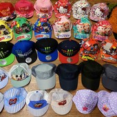 стильные новинки, яркие кепки, панамки разные, 48-56