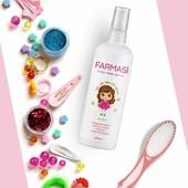 """Детский спрей для волос """"Лёгкое расчёсывание"""" от Farmasi, 200мл. лот 1шт"""