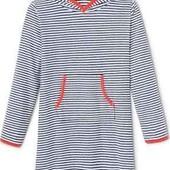 ☘ Махрове плаття-балахон з капюшоном від Tchibo (Німеччина), розмір: 122-128
