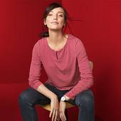 ☘ Красива блуза з віскози від Tchibo (Німеччина), наші розміри: 50-52 (44/46 євро)
