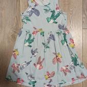 Платье 4-6 лет.
