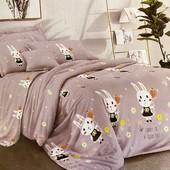 Детский полуторный бязевый постельный комплект. 80% хлопок, 20% полиэстер.