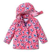☘ Красива якісна куртка-дощовик на флісовій основі, ecorepel® від Tchibo (Німеччина), рр.: 110/116