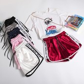 Крутая новинка!Жен.стильные шорты,р.42-50. Шелк Армани, модель-супер❣, выс.качество❤