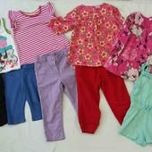 Комплект вещей на девочку 2-3 года