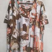 Классная женская футболка из натуральной ткани