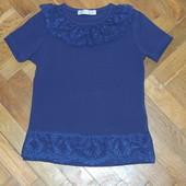 Красивая темно синяя новая футболка Toontoy 6 лет