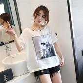 женская футболка Miss qiu