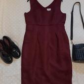 Красивое бордовое платье ! УП скидка 10%