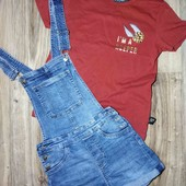 ЛоВи ЛоТы! фирменный стильный набор. шорты комбез и футболка Гарри Поттер